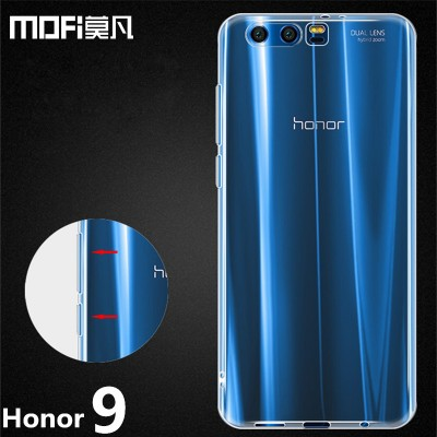Huawei Honor 9 Phone Case Honor 9 Back Cover Soft TPU Transparent Phone capas MOFi original Huawei honor 9 case cover
