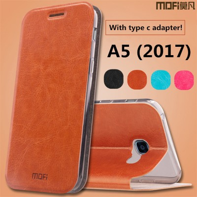Phone Cases For Samsung For samsung a5 case 2017 for samsung galaxy a5 2017 case cover flip case stand leather A5200 cover housing capa coque funda 5.2""