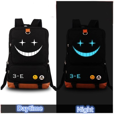 Cosplay Bag 2017 Harajuku Anime Assassination Classroom Printing Backpack Cosplay Backpacks for Teenage Girls Rucksacks Canvas School Bag