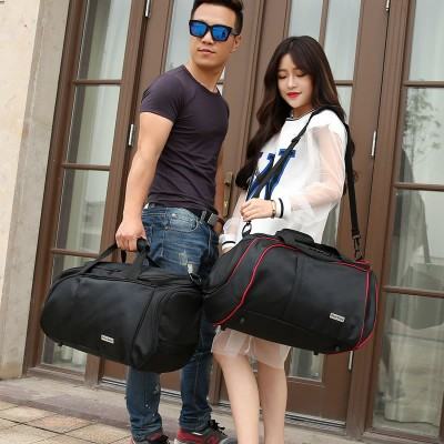 2017 Authentic fashion leisure male woman travel package oxford portable bag Casual big bag for men