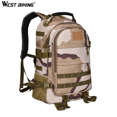 WEST BIKING Equipment Bag Durable Large Capacity Bolsa Sacoche Women Men Profession Mountaineering Climbing Hiking Backpack