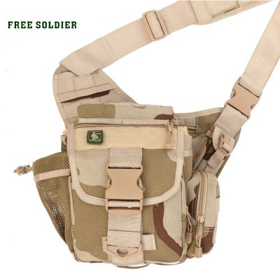 Hiking Backpack FREE SOLDIER hiking camping camera 100% nylon travel running tactical bag Waist packs Best Hiking Bags online