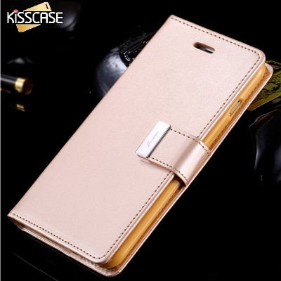 FLOVEME Leather Case For iPhone 6/6 Plus Flip Wallet Case For iPhone 7 7 Plus For iPhone 6 6S Plus Card Slot Holder Stand Cover