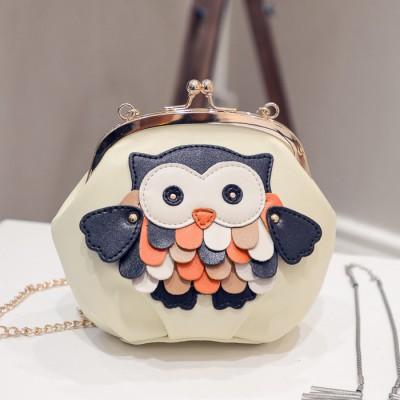 veevanv the new spring and summer 2017 handbag fashion style handbag owl shell bag chain single shoulder bag leather trend