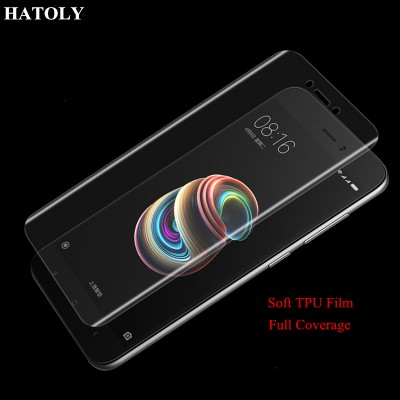 TPU Film for Xiaomi Redmi Note 5A Full Coverage Soft Screen Protector Film for Xiaomi Redmi Note 5A TPU Film (Not Glass)