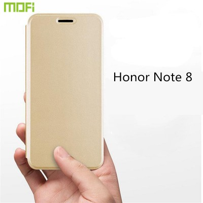 "Huawei honor note 8 case cover MOFi original honor note 8 flip case holder kickstand hawei capa coque note 8 funda housing 6.6"" Phone Cases For huawei"