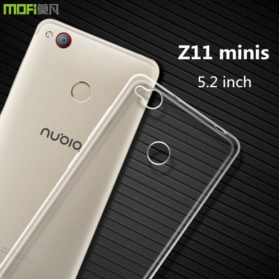 nubia z11 mini s case ZTE z11 minis case cover MOFi original mini s minis cover soft TPU back case accessoried transparent 5.2