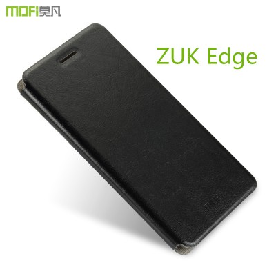 Lenovo zuk edge case cover MOFi original zuk edge cover flip case kickstand holder housing PU leather coque capa funda 5.5 inch