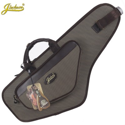 New luxury professional portable durable alto saxophone bag B sax gig case waterproof backpack soft padded strap