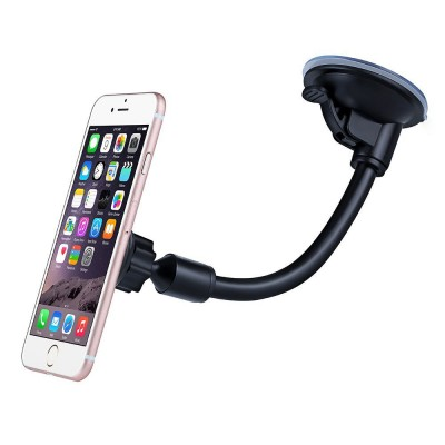 Mobile Cell Phone Holder for Car Universal magnetic Mobile Smart phone holder Long arm gooseneck magnet Car holder Stand mount dock for iphone xiaomi redmi 3 Pro