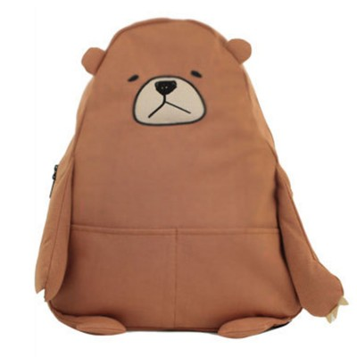 Cartoon Style Anime Backpack Cute Bear Shape Shoulders Bag for Teenage Girls School Bag
