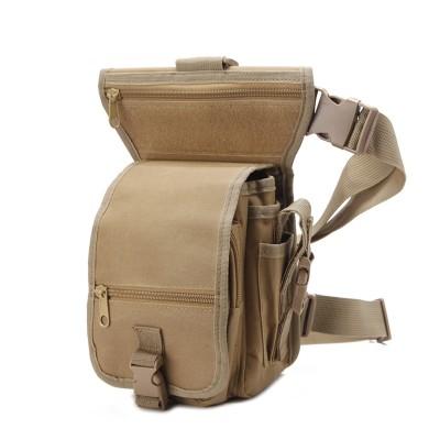 Men Drop waist leg bag waist pack belt cycle motorcycle Money Belt Fanny pack
