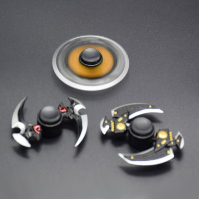 Finger Fidget Toys Hot High Speed Hand Spinner Fidget Toy Outdoor Cool Metal Rotate Darts Spinner Stress Wheel Alloy Finger Spinner Anti Stress Toy