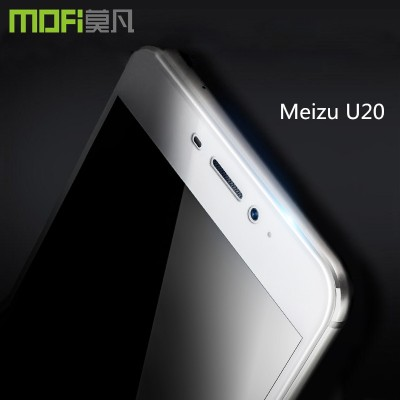 meizu u20 glass MOFi original meizu u20 tempered glass full cover screen protector white front guard 5.5 inch