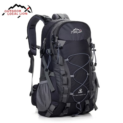 Local Lion Brand 40L Hiking Backpack Climbing Travelling Camping Backpacks Professional Trekking Bags Rucksack Bolsas Mochila