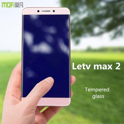 letv max 2 glass MOFi original letv lecco le max 2 x820 tempered glass screen protector HD anti glare front guard 5.7 inch