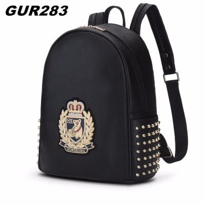 GUR283 Preppy Style brand women backpack fashion panda printing school bags for teenage girls high quality leather backpack