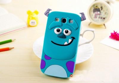 Sulley Phone Case Sulley 3D Cartoon Soft Silicone Case for Samsung Cartoon Phone Cases Personalised Phone Case Funny Phone Cases Cute Phone Cases Sulley Case