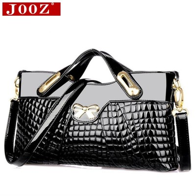 MAGICBAG designer handbags high quality woman leather handbags Crocodile women bag For Women party evening Clutch Bag