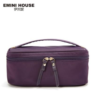 EMINI HOUSE High Quality Nylon Cosmetic Bag Multifunction Makeup Bag Handbags Women Bags High Capacity Cosmetic Holder