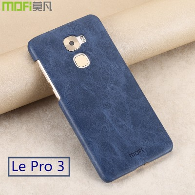 Le pro 3 case MOFi original le pro 3 cover leather back case cover letv pro 3 leEco pro 3 accessories hard capa coque funda 5.5""