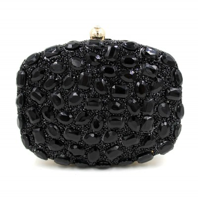 New Design Evening Bag Green Stone Crystal Luxury Day Clutch Bag ... 2e7096753dee