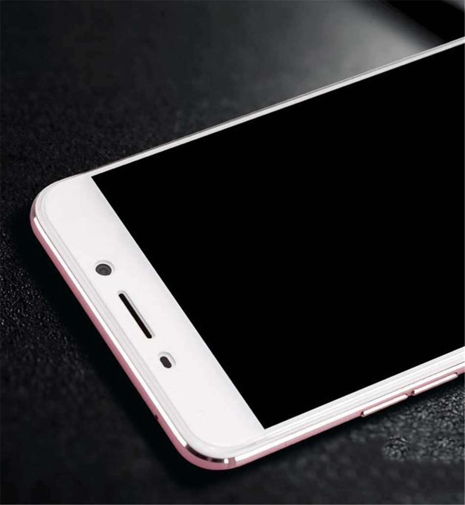 Mofi Case For Oppo F1 Plus Tempered Glass Full Cover Original