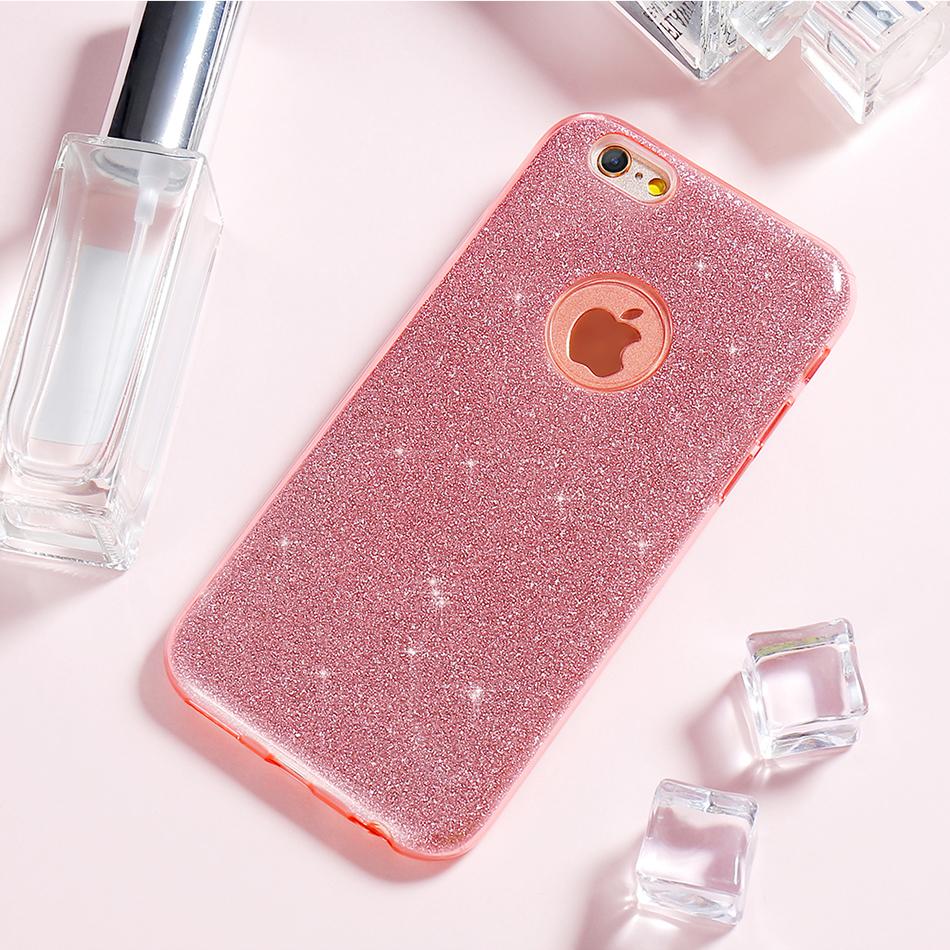 Kisscase For Iphone 5s 5 Se Case Luxury Glitter Pc Bling Wrap Skin Xiaomi Mi Max