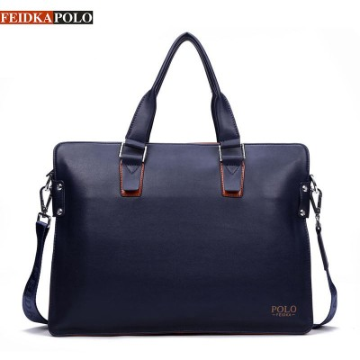 Famous Brand Bag Men Handbags Leather Briefcase Fashion Shoulder Bags Vintage Crossbody Satchel Man Tote Bag Men Messenger Bags