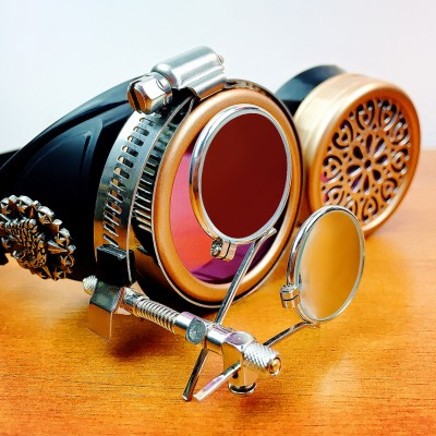 Original Pink Steampunk Goggles Sunglasses Steampunk Props Cosplay Props