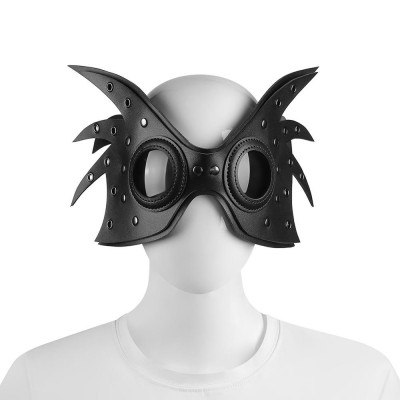 Original New Halloween Steampunk Mask Bar Party Cosplay Mask Easter Funny Punk Leather Mask Steampunk Accessories Female Mask