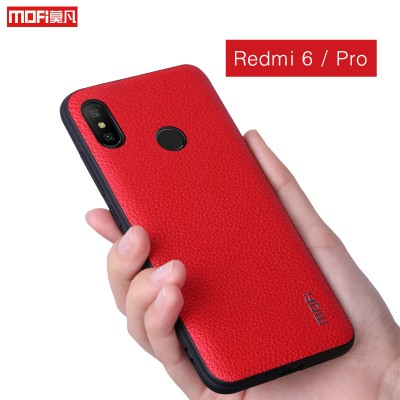 Xiaomi Redmi 6 Case Xiaomi Redmi 6 Pro Case Cover Mofi Pu Leather For Xiaomi Redmi 6 Pro Back Cover Business