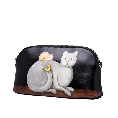 Messenger Women Bag Female Leather Shoulder Bags Woman Leather Handbags Shell 35ZQ