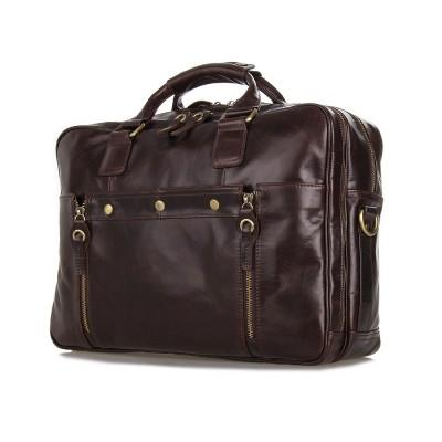 2019 New Arrival 100% Genuine Leather High Quality Briefcases For Men Business Travel Bag Shoulder Messenger Bag Handbags 7201