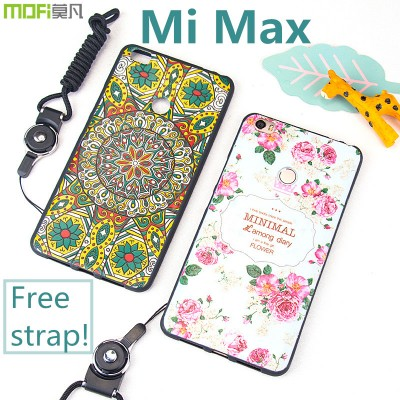 Xiaomi mi max case MOFi original xiaomi max cover interest cartoon cute relief totem colours hybrid capa coque funda xiomi 6.44""