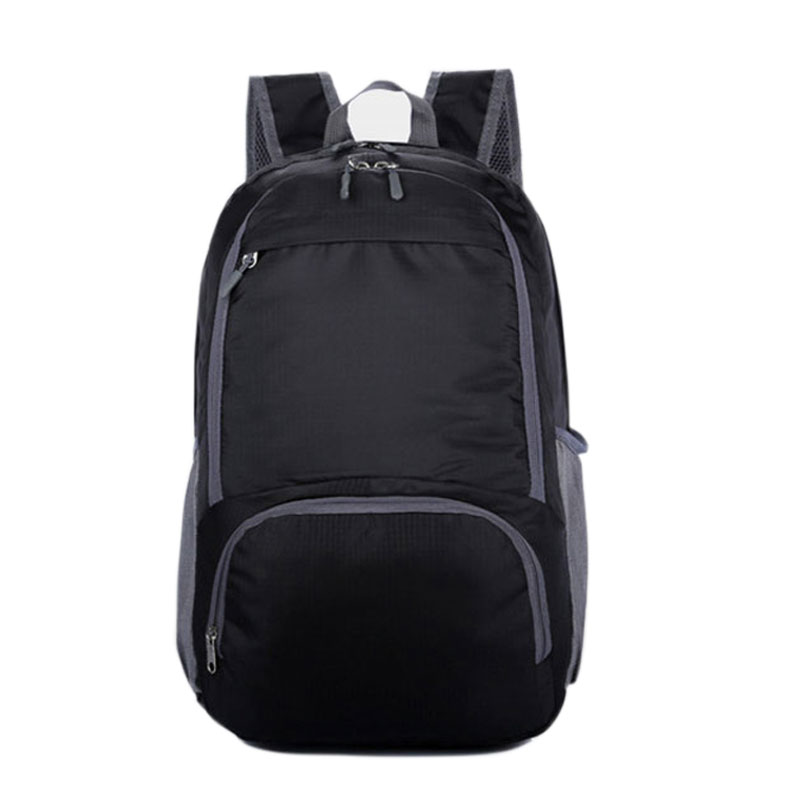Women Men Foldable Waterproof Travel Backpack Satchel Rucksack Laptop School Bag