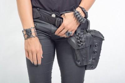 Steampunk Bag Steam Punk Retro Rock Gothic bag Waist Bags Packs Women Men leg Thigh Holster camera bag tool pack climb