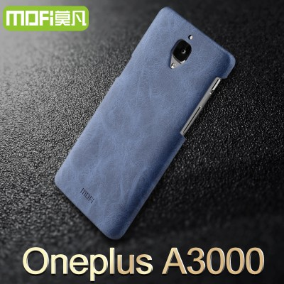 Oneplus 3 case oneplus 3 cover MOFi original oneplus 3 A3000 accessories leather case back cover hard capa cuque funda 5.5 inch