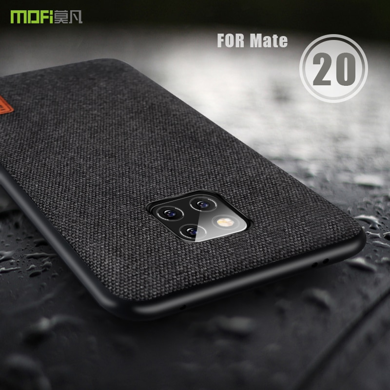 Huawei Mate 20 Pro Case Cover MOFI Mate 20 Fabric Back Cover Case Huawei Mate 20 X Phone Case