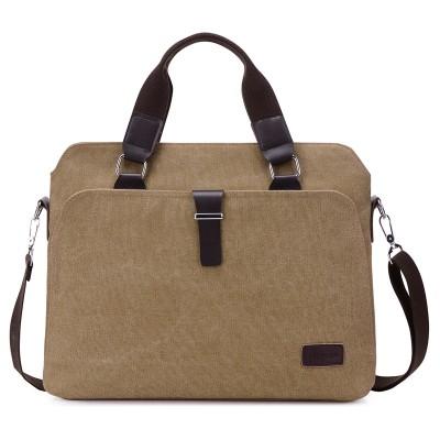 Fabra New Male Briefcases Big Business Men Messenger Bags Canvas Men's Handbags Travel Cross-Body Bags Men Shoulder Bags Black