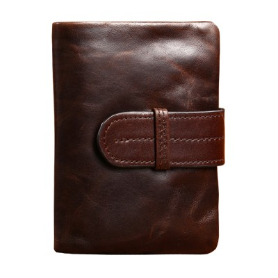 Men Wallets Famous Brand 100% Cowhide Genuine Leather Wallet Men Card Holder With Coin Pocket Short Vintage Design Wallet Purse