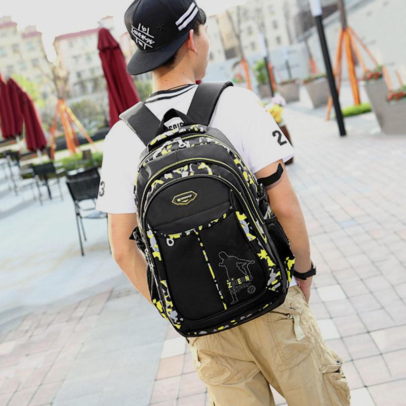 Teenage Backpacks For Teen Boys School Backpack Fashion Men Backpack Male  Military Bagpack Youth Teenagers Boy Mochila Masculina