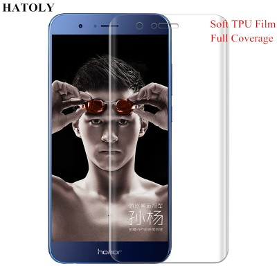 TPU Film for Huawei Honor V9 3D Full Coverage Soft Screen Protector Film for Huawei Honor V9 TPU Film(Not Tempered Glass)