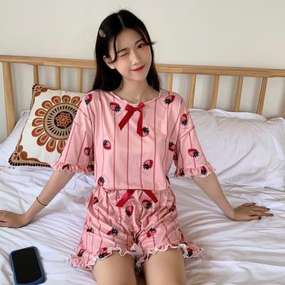 Ladies Womens Pyjamas Set Summmer Short Night wear LoungeWear  pajamas Sleep