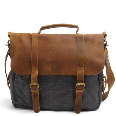 0e2f7327ce 2019 Real Promotion Totes Vintage Military Canvas Crazy Horse Men Bags Carry  On Laptop Duffel Bag Tote Large Weekend Overnight
