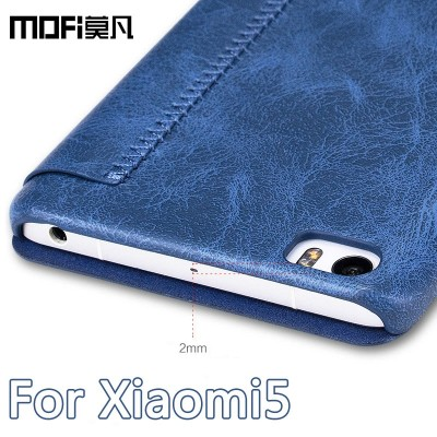 Xiaomi Mi 5 Case Mofi Flip PU Leather Cover Luxury Phone Case Cover for Xiaomi Mi 5