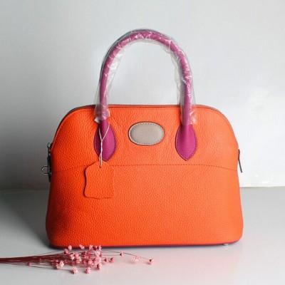 2019 Newest Genuine Leather Shell Bag Panelled Women Handbag Luxury Designer Fashion Padlock Tote Contrast Color Shoulder Bag