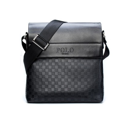 sacoche homme special offer leather men messenger bag fashion brand men business crossbody bag brand POLO Shoulder Bag briefcase