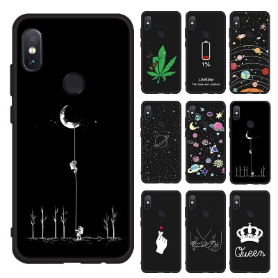 Phone Case for Xiaomi Redmi Note 6 5 Pro 6A 5A S2 Lovely Space Pattern Painted Case for Redmi 5 Plus 6 Pro 4X Cover