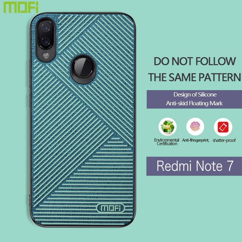 Xiaomi Redmi Note 7 Case Mofi Xiaomi Redmi Note 7 Cover Skidproof Redmi Note 7 Back Cover